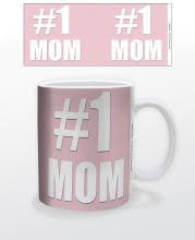 Image for #1 Mom Coffee Mug