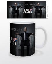 Image for House of Cards Greater Good Coffee Mug