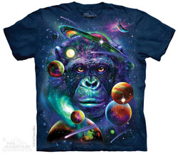 Image for The Mountain Youth T-Shirt - Cosmic Chimp