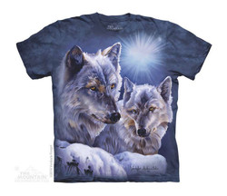 Image for The Mountain Youth T-Shirt - Equinox Wolves
