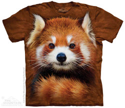 Image for The Mountain Youth T-Shirt - Red Panda