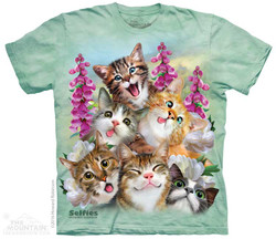 Image for The Mountain Youth T-Shirt - Kitten Selfie