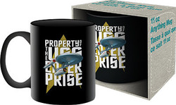 Image for Star Trek Property of the USS Enterprise Coffee Mug