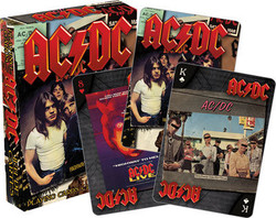 Image for AC/DC Album Playing Cards