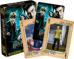 Image for Harry Potter and the Order of the Phoenix Playing Cards