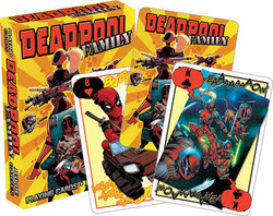 Image for Deadpool Family Playing Cards
