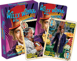 Image for Willy Wonka and the Chocolate Factory Playing Cards