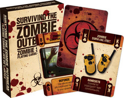 Image for Surviving the Zombie Outbreak Playing Cards