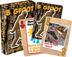 Image for Bigfoot Playing Cards
