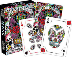 Image for Dia De Los Muertos Sugar Skulls Playing Cards