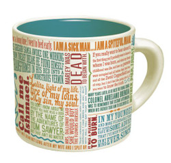 Image for First Lines of Literature Coffee Mug