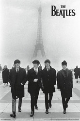Image for The Beatles Poster - Eiffel Tower