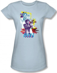Image for Miami Vice Freeze Girls Shirt