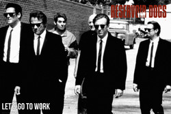 Image for Reservoir Dogs Poster - Let's Go To Work