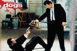 Image for Reservoir Dogs Poster - Mr. Pink & Mr. White