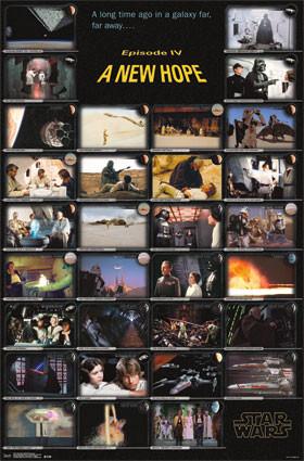 Image for Star Wars Poster - A New Hope Frames