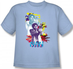 Image for Miami Vice Freeze Youth T-Shirt