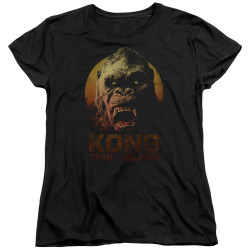 Image for Kong Skull Island Womans T-Shirt - Face