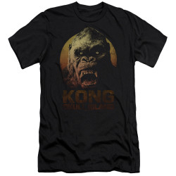 Image for Kong Skull Island Premium Canvas Premium Shirt - Face
