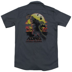 Image for Kong Skull Island Dickies Work Shirt - Sunset