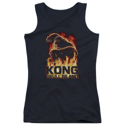 Image for Kong Skull Island Girls Tank Top - Out of the Fire