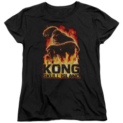 Image for Kong Skull Island Womans T-Shirt - Out of the Fire