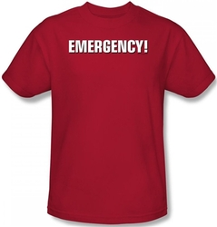 Image Closeup for Emergency! Logo T-Shirt