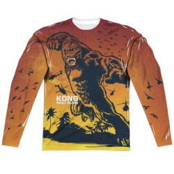 Image for Kong: Skull Island Sublimated Long Sleeve - In the Jungle 100% Polyester