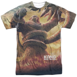 Image for Kong: Skull Island Sublimated T-Shirt - the Mighty Jungle 100% Polyester