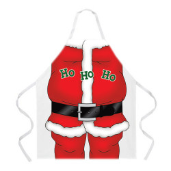 Image Closeup for Santa Claus Apron