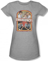 Image for Emergency! Retro Cast Girls Shirt