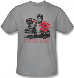 Image Closeup for Knight Rider Super Pursuit Mode T-Shirt