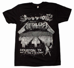 Image for Metallica Damage on Tour T-Shirt