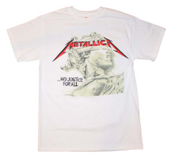 Image for Metallica Justice Chrome Statue T-Shirt