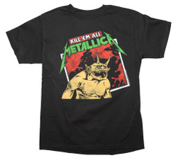 Image for Metallica Kill em All Tilted T-Shirt