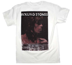 Image for Rolling Stones Keith Vintage Live T-Shirt