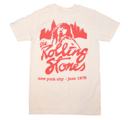 Image for Rolling Stones Mick June 1975 T-Shirt