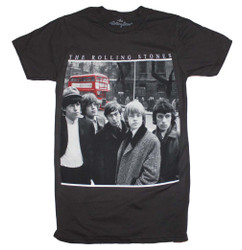 Image for Rolling Stones Bus Photo T-Shirt