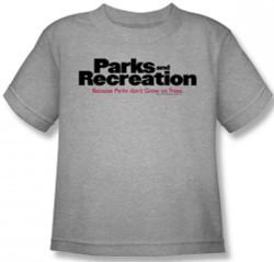 Image for Parks & Rec Logo Kids T-Shirt