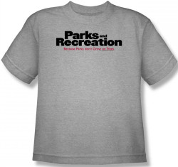 Image for Parks & Rec Logo Youth T-Shirt