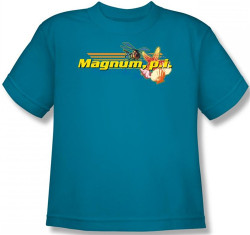 Image for Magnum PI Hawaiian Life Youth T-Shirt