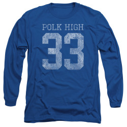 Image for Married With Children Long Sleeve Shirt - Polk High 33 Logo