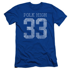 Image for Married With Children Premium Canvas Premium Shirt - Polk High 33 Logo
