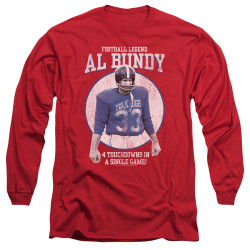 Image for Married With Children Long Sleeve Shirt - Football Legend