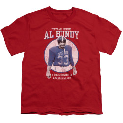 Image for Married With Children Youth T-Shirt - Football Legend