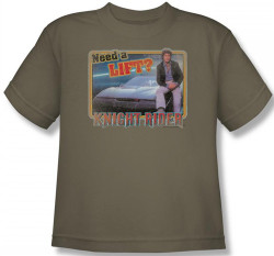 Image for Knight Rider Need a Lift? Youth T-Shirt