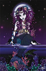 Image for Uxia Mermaid Poster