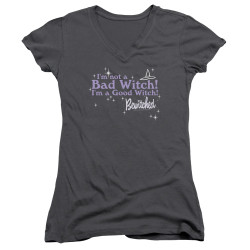 Image for Bewitched Girls V Neck - Bad Witch Good Witched