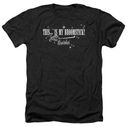 Image for Bewitched Heather T-Shirt - Broomstick