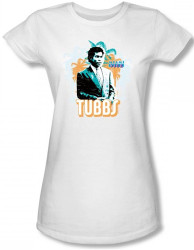 Image for Miami Vice Tubbs Girls Shirt